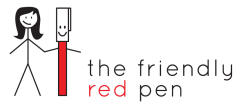 the friendly red pen